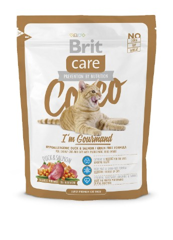 Корм Brit Care Cat Cocco I am Gourmand, 0,4 кг Brit